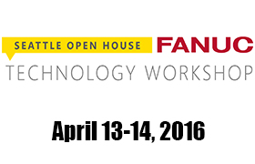 FANUC Seattle Open House and Technology Workshop logo