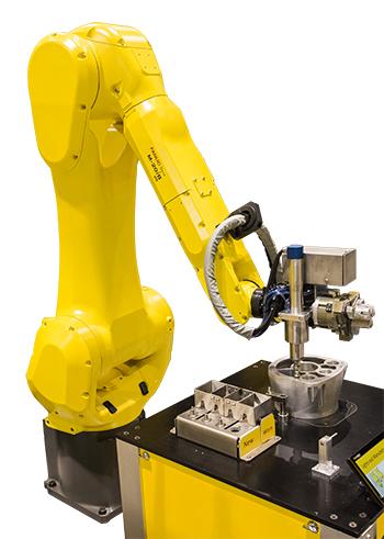 Automated Cutting Grinding Deburring Deflshing