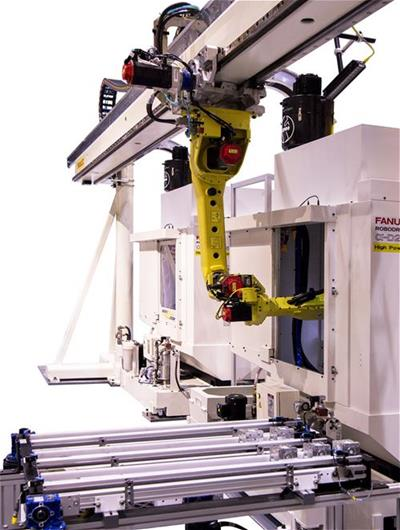 M-20iA machine loading robot