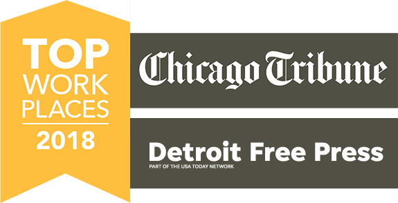 Top Places to Work 2018: Chicago Tribune and Detroit Free Press
